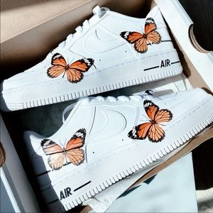 Air force w custom butterflies